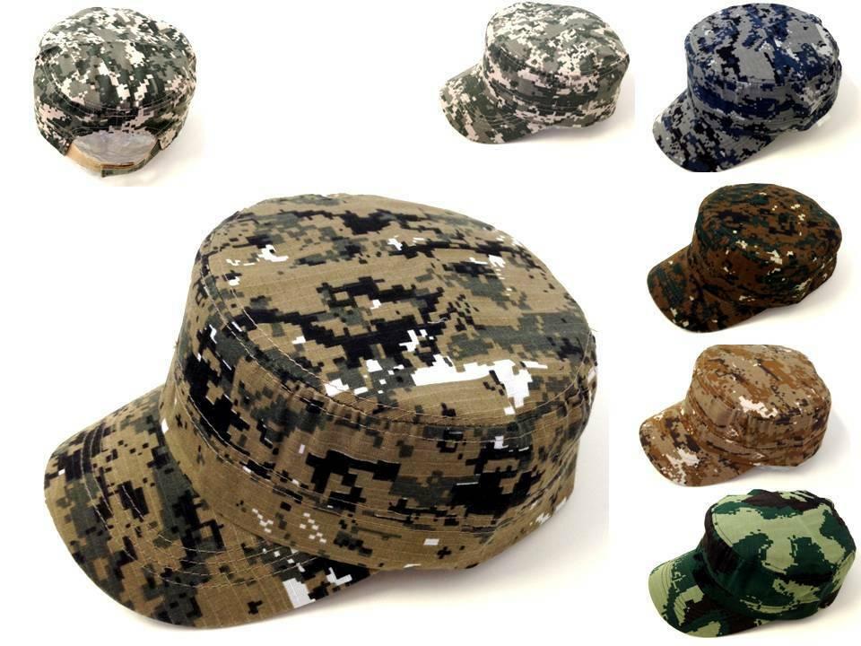 167c8e7109470 Army Cadet Military Patrol Castro Curved Cap Hat Men Women Golf Baseball